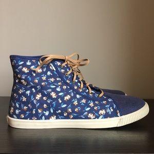 TOMS Camarillo Sneaker Deep Cobalt Vintage Flower